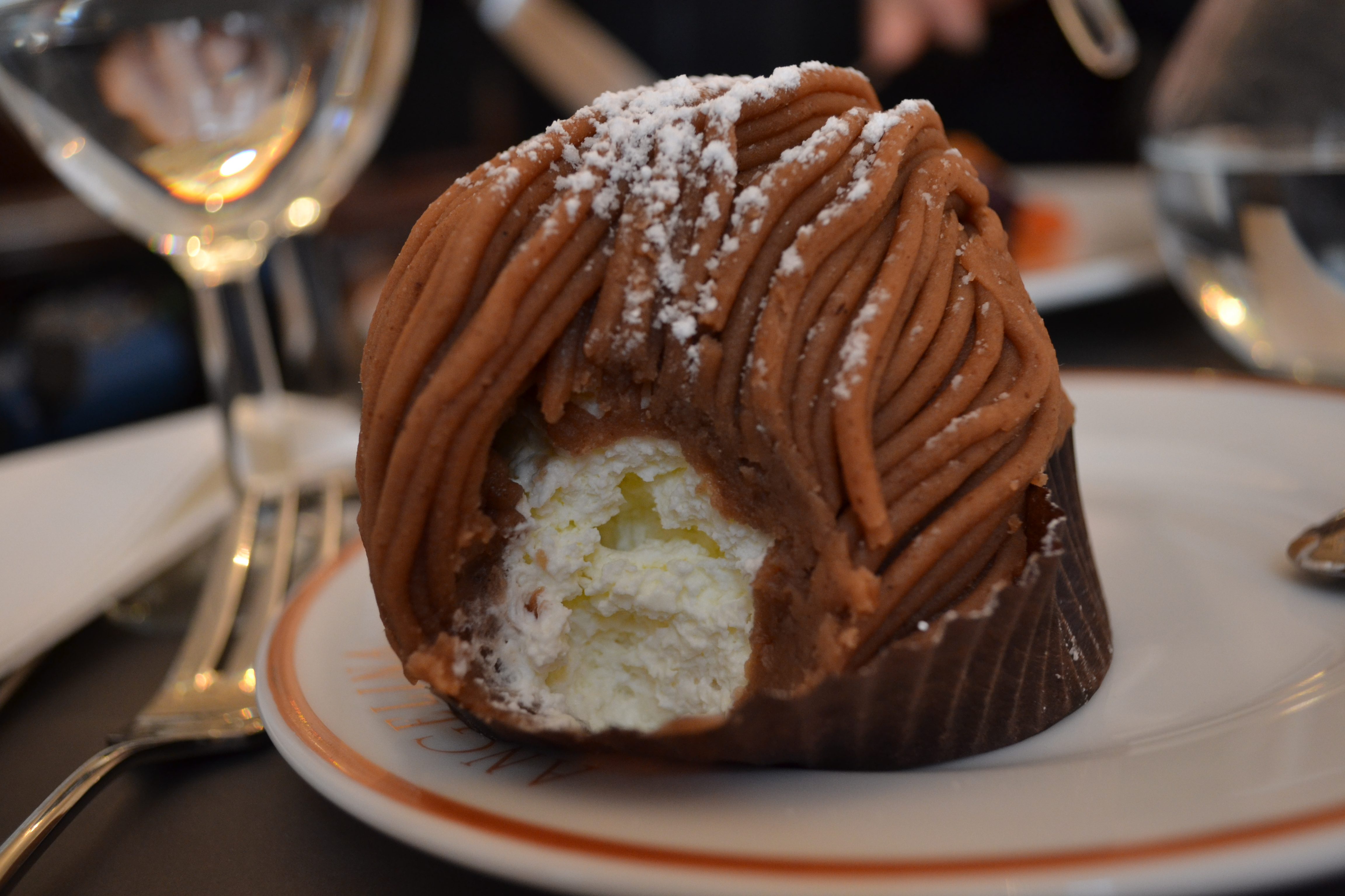 Food punk let them eat cake la mont blanc at the palace for Mont blanc recipe