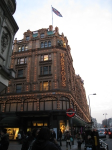 Harrods, 109-125 Knightsbridge, London, England