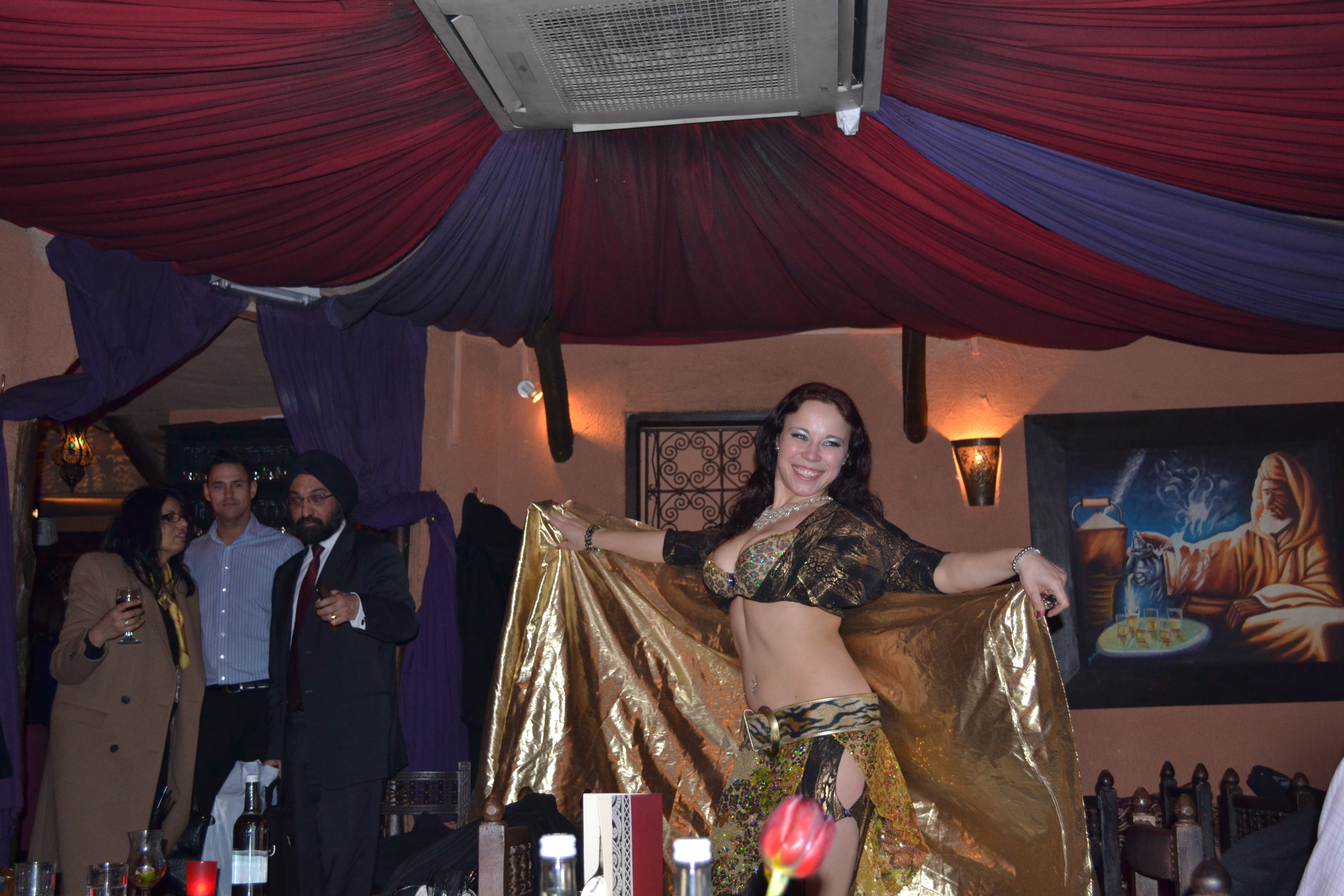 Belly Dancers London Belly Dancer at Souk Medina
