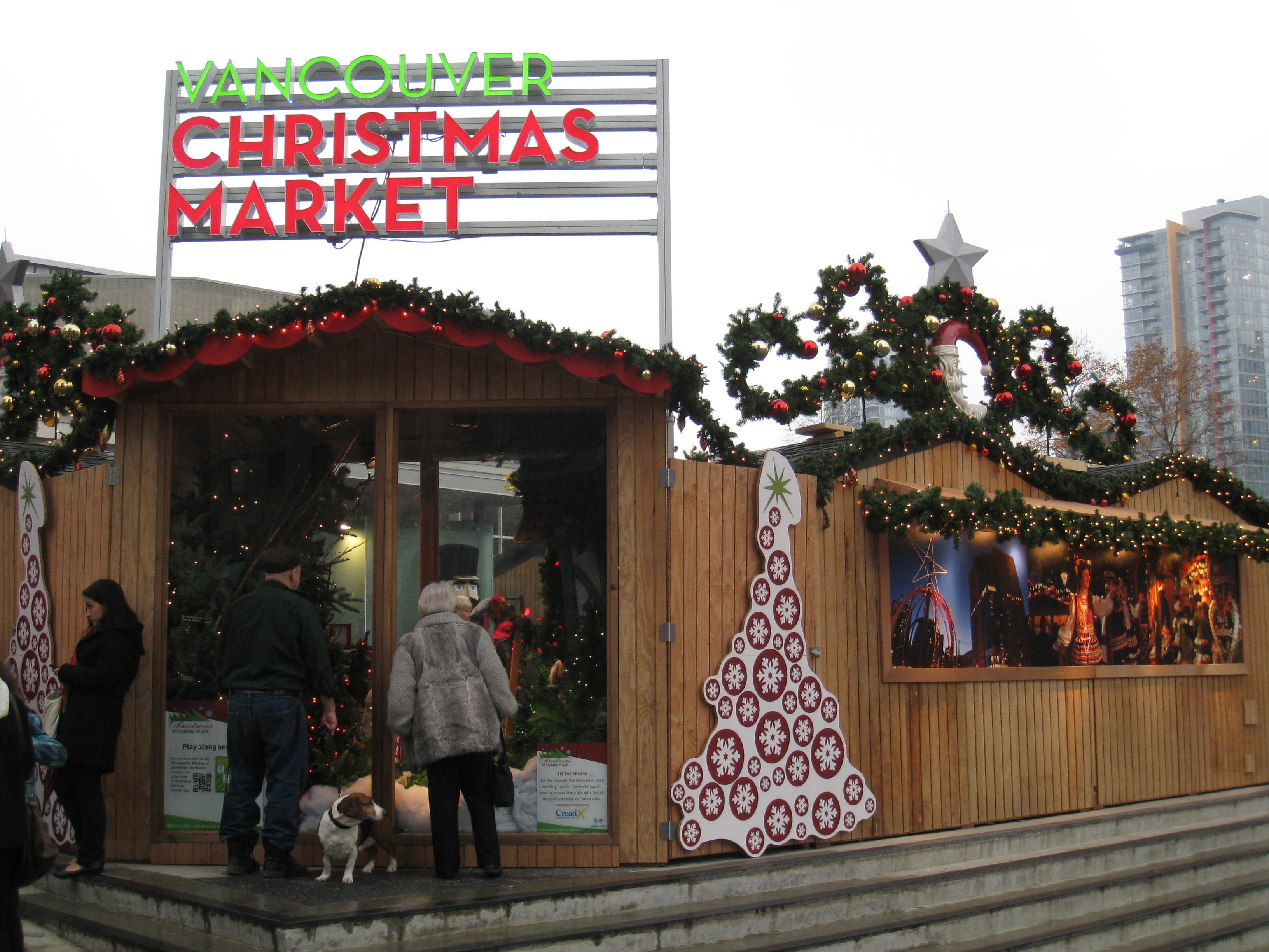 Hamilton Christmas Market.Food Punk Vancouver Christmas Market Grilled Bratwurst